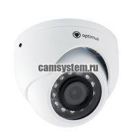 Optimus IP-E052.1(3.6)A_H.265 - 2 МП купольная IP-камера
