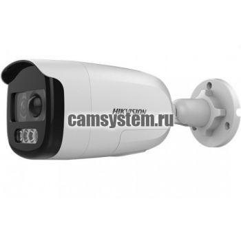 Hikvision DS-2CE12DFT-PIRXOF (6mm) - 2Мп уличная HD-TVI камера с сиреной по цене 6 650.00 р.