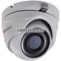 HiWatch DS-T303 (3.6 mm) - 3Мп уличная купольная HD-TVI камера