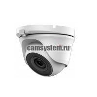 HiWatch DS-T123 (3.6 mm) - 1Мп уличная купольная HD-TVI камера
