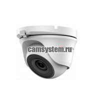 HiWatch DS-T123 (2.8 mm) - 1Мп уличная купольная HD-TVI камера