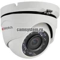 HiWatch DS-T103 (6 mm) - 1Мп уличная купольная HD-TVI камера