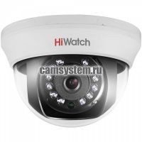HiWatch DS-T101 (6 mm) - 1Мп внутренняя HD-TVI камера