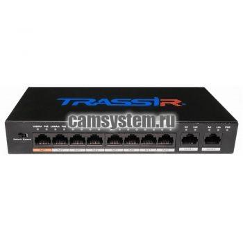 TRASSIR TR-NS1010-96-8PoE v2 по цене 9 230.00 р.