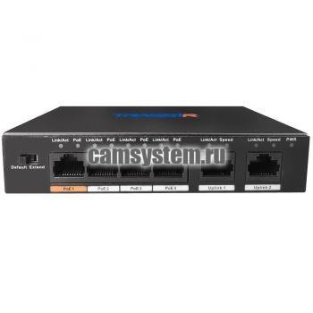 TRASSIR TR-NS1006-60-4PoE v2 по цене 5 490.00 р.