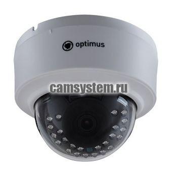 Optimus IP-E022.1(3.6)P_V.2 - 2 МП купольная IP-камера с PoE по цене 3 664.00 р.