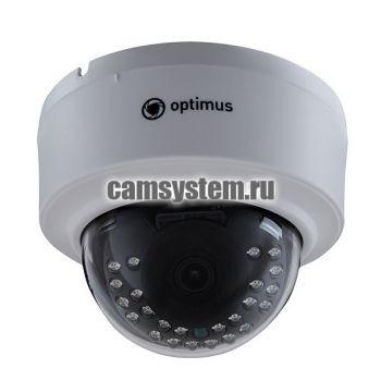 Optimus IP-E022.1(3.6)AP_V.2 - 2 МП купольная IP-камера с PoE по цене 3 926.00 р.