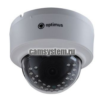 Optimus IP-E022.1(3.6)_V.2 - 2 МП купольная IP-камера по цене 3 436.00 р.