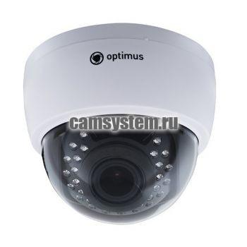 Optimus IP-E022.1(2.8-12)AP_V.2 - 2 МП купольная IP-камера с PoE по цене 5 132.00 р.