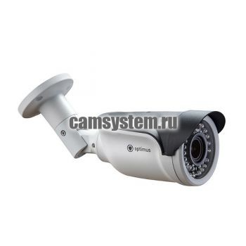 Optimus IP-E012.1(2.8-12)P_V.2 - 2 МП купольная IP-камера с PoE по цене 5 020.00 р.
