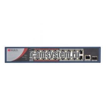 HiWatch DS-S1816P(B) - Коммутатор POE по цене 14 840.00 р.