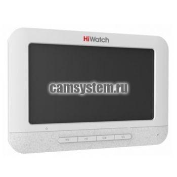 HiWatch DS-D100MF - 7 TFT монитор видеодомофона с памятью по цене 6 574.00 р.