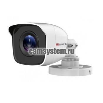 HiWatch DS-T200(B) (3.6 mm) - 2Мп уличная HD-TVI камера по цене 2 394.00 р.