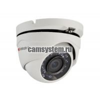 HiWatch DS-T103 (3.6 mm) - 1Мп уличная купольная HD-TVI камера