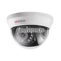 HiWatch DS-T101 (3.6 mm) - Купольная 1Мп HD-TVI камера
