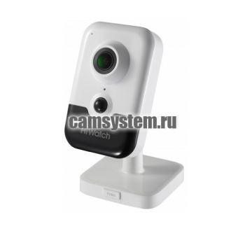 HiWatch DS-I214(B) (2.8 mm) - 2Мп внутренняя IP-камера по цене 7 360.00 р.