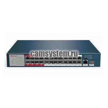 HiWatch DS-S2624P(B) - PoE-коммутатор по цене 23 090.00 р.