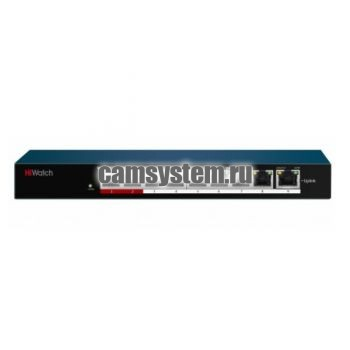 HiWatch DS-S908P(B) - PoE-коммутатор по цене 6 040.00 р.
