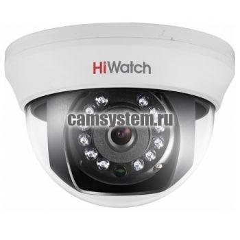 HiWatch DS-T591 (3.6 mm) - 5Мп внутренняя HD-TVI камера по цене 3 026.00 р.
