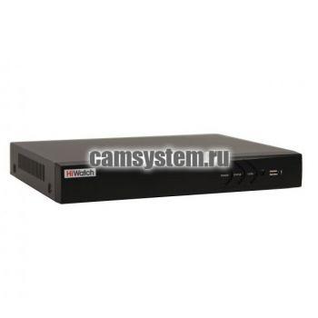HiWatch DS-H304QA - 4 канальный гибридный HD-TVI регистратор по цене 8 246.00 р.