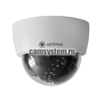 Optimus AHD-H025.0(2.8-12)_V.2 - 5 Мп купольная AHD камера по цене 2 898.00 р.