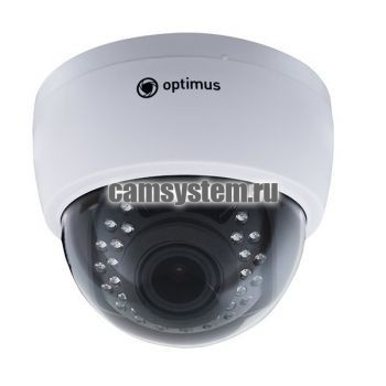 Optimus IP-E022.1(2.8-12)P_V.2 - 2 МП купольная IP-камера с PoE по цене 4 608.00 р.