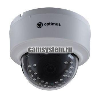 Optimus IP-E022.1(2.8)P_V.2 - 2 МП купольная IP-камера с PoE по цене 3 711.00 р.