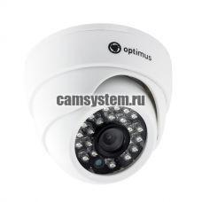 Optimus AHD-H022.1(3.6)E - Купольная 2 Мп AHD камера