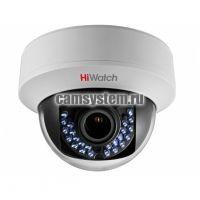 HiWatch DS-T107 (2.8-12 mm) - 1Мп купольная HD-TVI камера