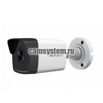 HiWatch DS-I400(B) (2.8 mm) - 4Мп уличная цилиндрическая IP-камера по цене 6 574.00 р.