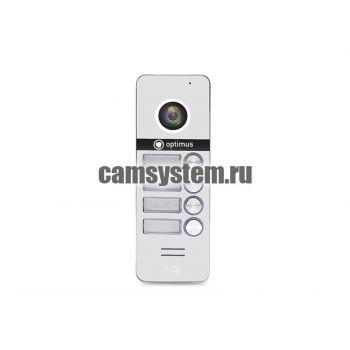 Optimus DSH-1080/4 (белый) - Вызывная панель на 4 видеодомофона по цене 6 087.00 р.