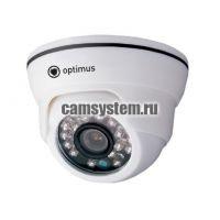 Optimus AHD-M021.0(3.6)E - 1 Мп купольная AHD камера