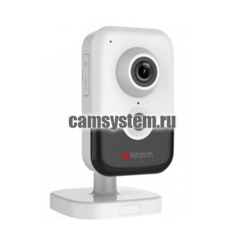 HiWatch DS-I214W(B) (4 mm) - 2Мп внутренняя WiFi IP-камера по цене 7 619.00 р.
