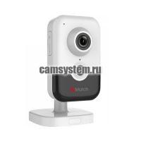 HiWatch DS-I214W(B) (2.0 mm) - 2Мп внутренняя WiFi IP-камера