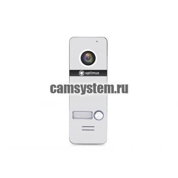 Optimus DSH-1080/1 (белый) - Вызывная панель на 1 видеодомофон по цене 5 125.00 р.