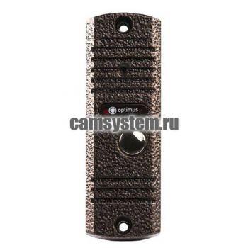 Optimus DSH-E1080 (медь) - Вызывная панель на 1 видеодомофон по цене 3 061.00 р.