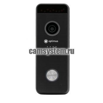 Optimus DSH-1080_v.1(черный) - Вызывная панель на 1 видеодомофон по цене 4 396.00 р.