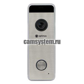 Optimus DSH-1080_v.1(серебро) - Вызывная панель на 1 видеодомофон по цене 4 396.00 р.