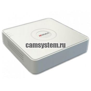 HiWatch DS-H108UA - 8 канальный гибридный видеорегистратор по цене 14 383.00 р.