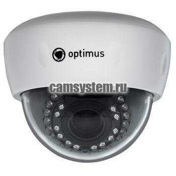 Optimus IP-E025.0(2.8-12)P - 5 Мп купольная IP-камера с PoE по цене 5 850.00 р.