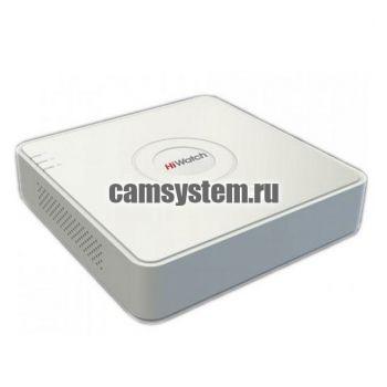 HiWatch DS-H204QA - 4 канальный гибридный видеорегистратор по цене 6 370.00 р.