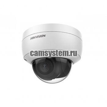 Hikvision DS-2CD2123G0-IU (6mm) - 2Мп уличная купольная IP-камера по цене 11 890.00 р.