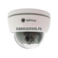 Optimus AHD-M031.0(2.8)E - 2 Мп купольная AHD камера
